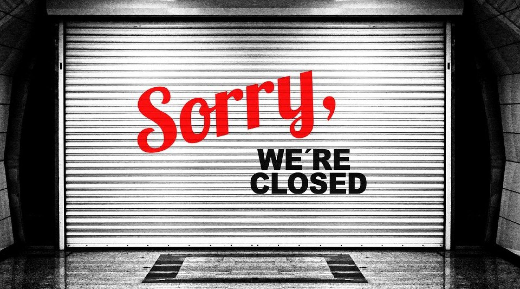 Secteurs (re)fermés